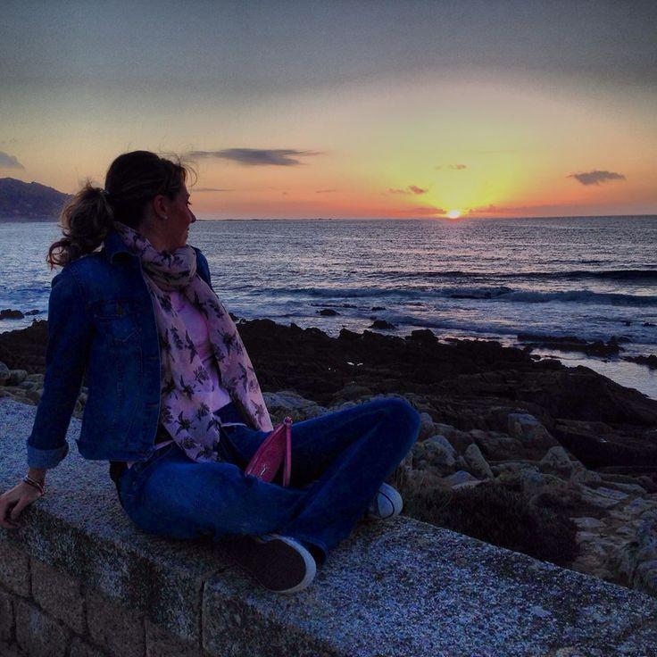 Sunset  Baiona