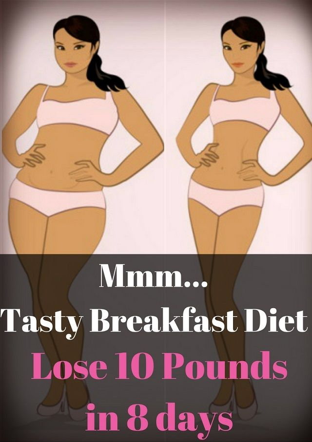 Mmm...Tasty Breakfast Diet: Lose 10 Pounds in 8 days