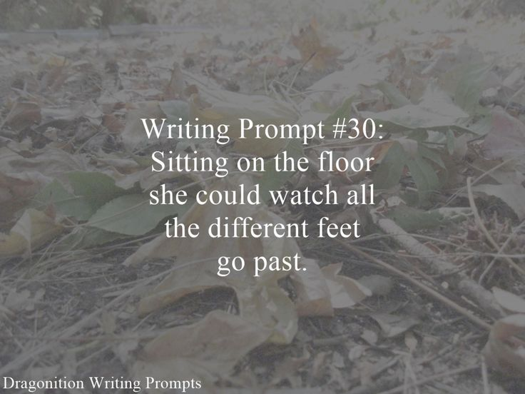Writing Prompt Dragonition 30