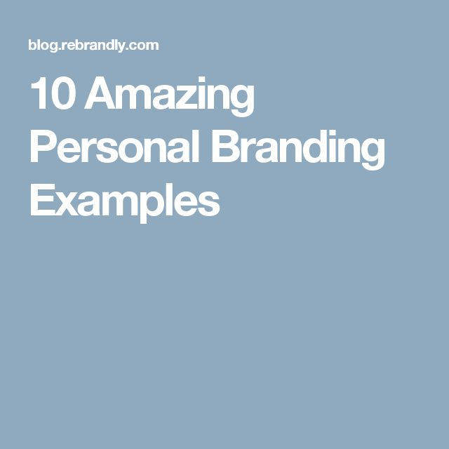 Best 25+ Personal branding examples ideas on Pinterest Personal - personal development example