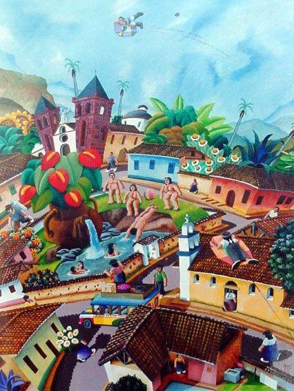 17 mejores im genes sobre pintura en pinterest pablo for Pintor y muralista colombiano