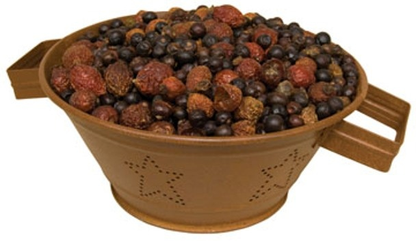 great source for potpourri and other dried fruits and rose hips for decorating and such