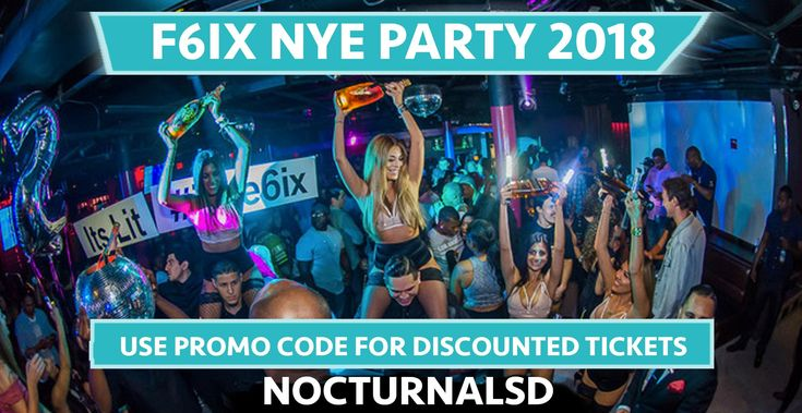 F6IX NYE 2018 SAN DIEGO DISCOUNT TICKETS PROMO CODE GASLAMP    Looking for the best and top new years eve events in the San Diego Downtown gaslamp district ? check out the F6IX NYE 2018 San Diego Discount Tickets Promo Code Gaslamp new years eve party. This even will be one of the best places to dance, listen to live music, get a vip table bottle service, edm , hip hop, so by your tickets now on sale. There will be no guest list so buy your tickets early, early bird, general admission, vip…