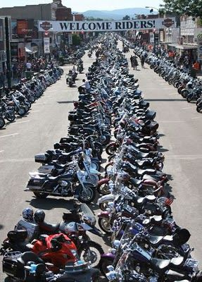 Sturgis 75th Motor Cycle Rally... August 3- 9, 2015... Mom and I will be there!