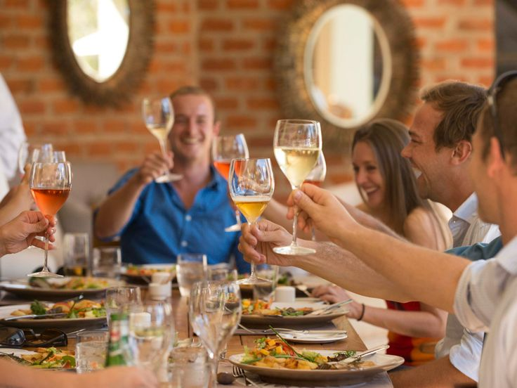 An unforgettable dining experience with friends and family