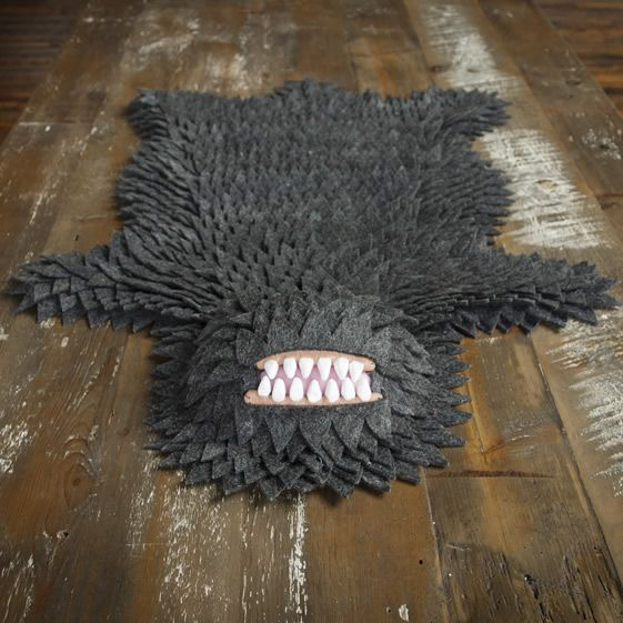 We recently stumbled across a surprising take on the abiding tradition of animal skin rugs. New York based artist [ Joshua Longo's ] monster skin rug had us in raptures; we had to find out more. Turns out Joshua is a multi-disciplinary artist with a whole array of disturbing little characters behind him. But who were these big-mouthed, no-eyed little freaks? We spoke to Mr Longo to get the full story.