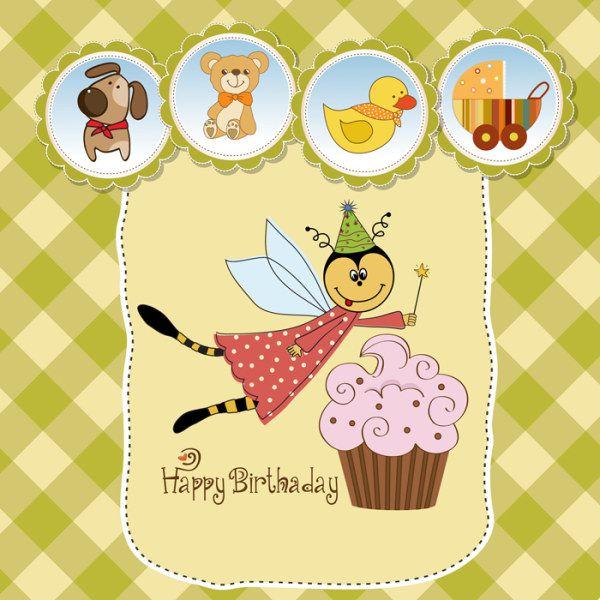 Best Birthday Images On Pinterest Birthday Wishes Birthday - Birthday invitation vector free