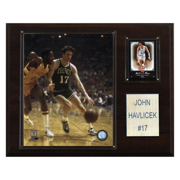 NBA 12 x 15 in. John Havlicek Boston Celtics Player Plaque - 1215HAVLI