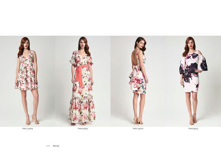 Forel Spring-Summer 17 | Printed Flowers