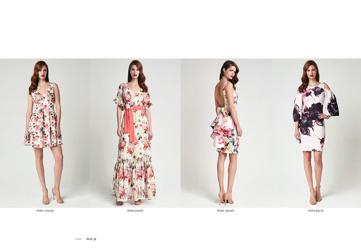 Forel Spring-Summer 17   Printed Flowers