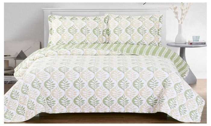 Wholesalebeddings Royal Tradition Oversized Reversible Bed Quilt Set 2 Or 3 Piece Quilt Sets Bedding Quilted Coverlet Bed Decor