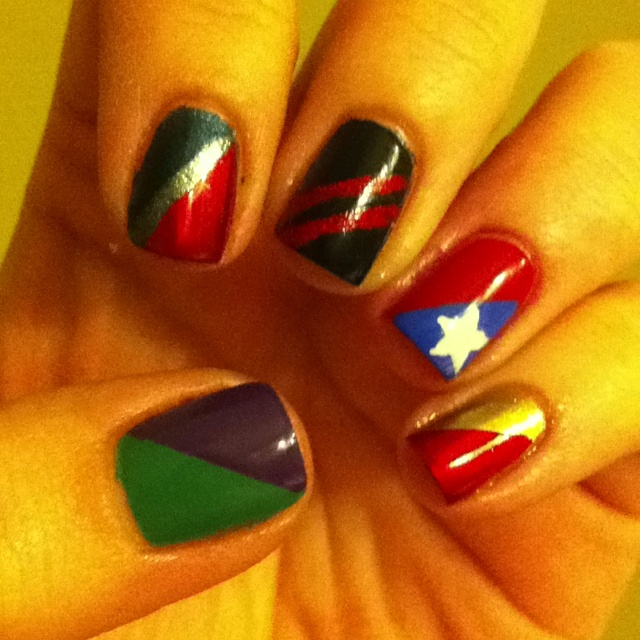Best 25+ Avengers Nails Ideas On Pinterest