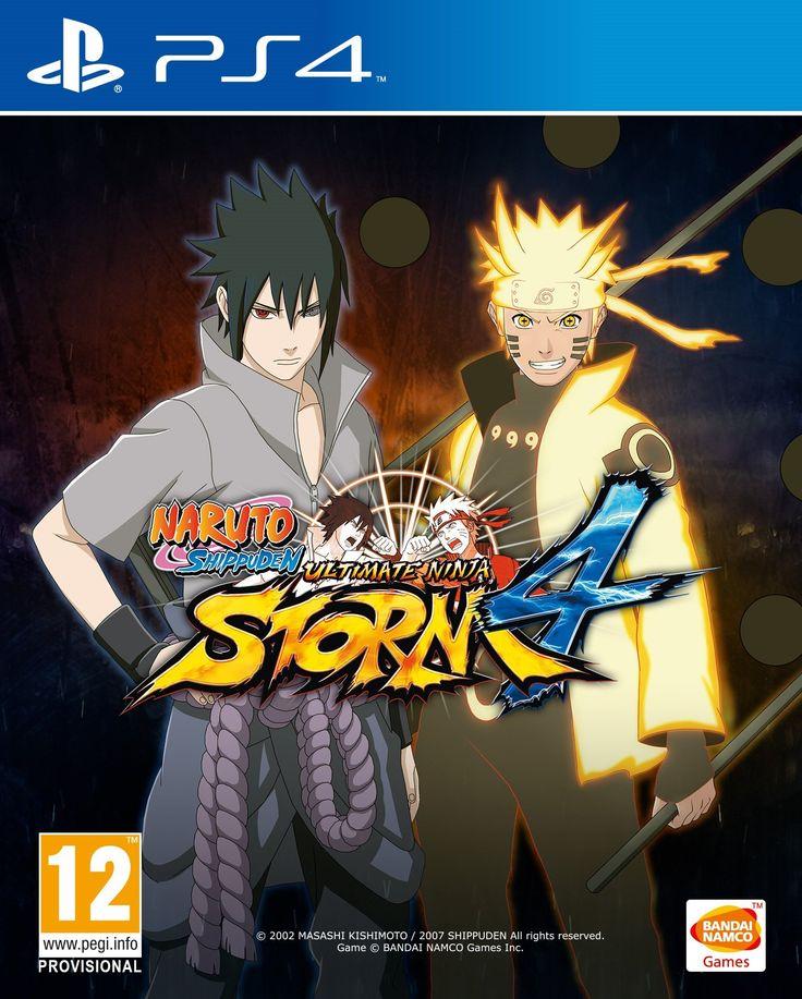 boxshot naruto shippuden ultimate ninja storm 4 by bandai namco games america inc - Ps4 Video Games