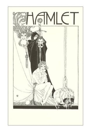 Beardsley. okay I'm no Shakespeare fanatic, but I LOVE this print. this FONT!: