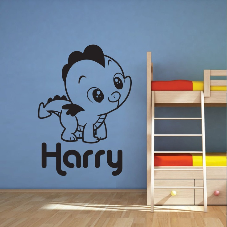 Best Nursery Images On Pinterest Dragon Nursery Nursery - Custom vinyl wall decals dragon