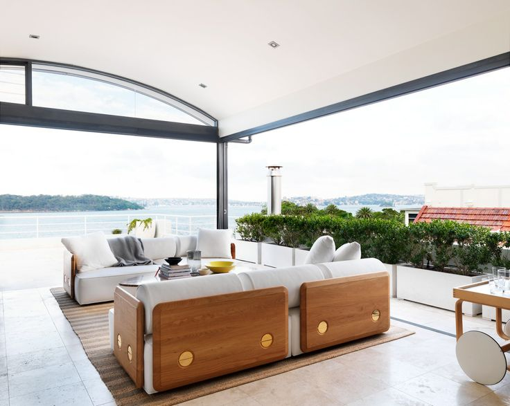 Outside Living - Cremorne House by Decus