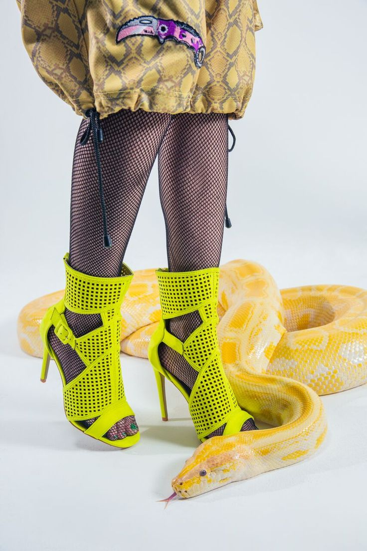Head over heelsss #DollsKill #heels #cutout #faux #suede #yellow #shoes #editorial