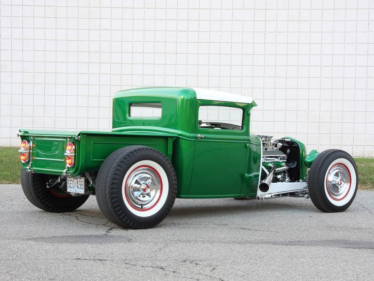 street rods jimmy hervatin 1930 ford pickup street rod. Black Bedroom Furniture Sets. Home Design Ideas