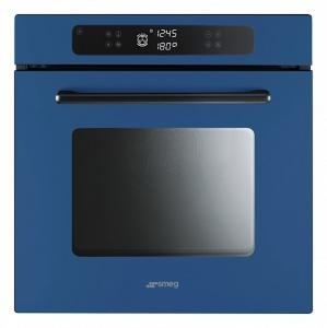 Smeg FP610SBL Marc Newson Single Electric Oven : Remodelista