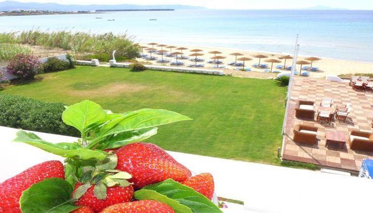 Amaryllis Paros Beach Hotel, επάνω στο κύμα, στην Χρυσή Ακτή της Πάρου μόνο με 152€!