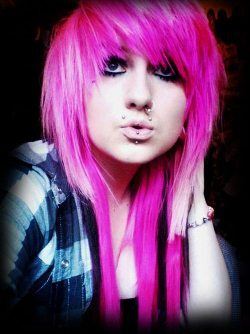 Scene Girls Haircuts Styles And Colors Pics Scene Girl