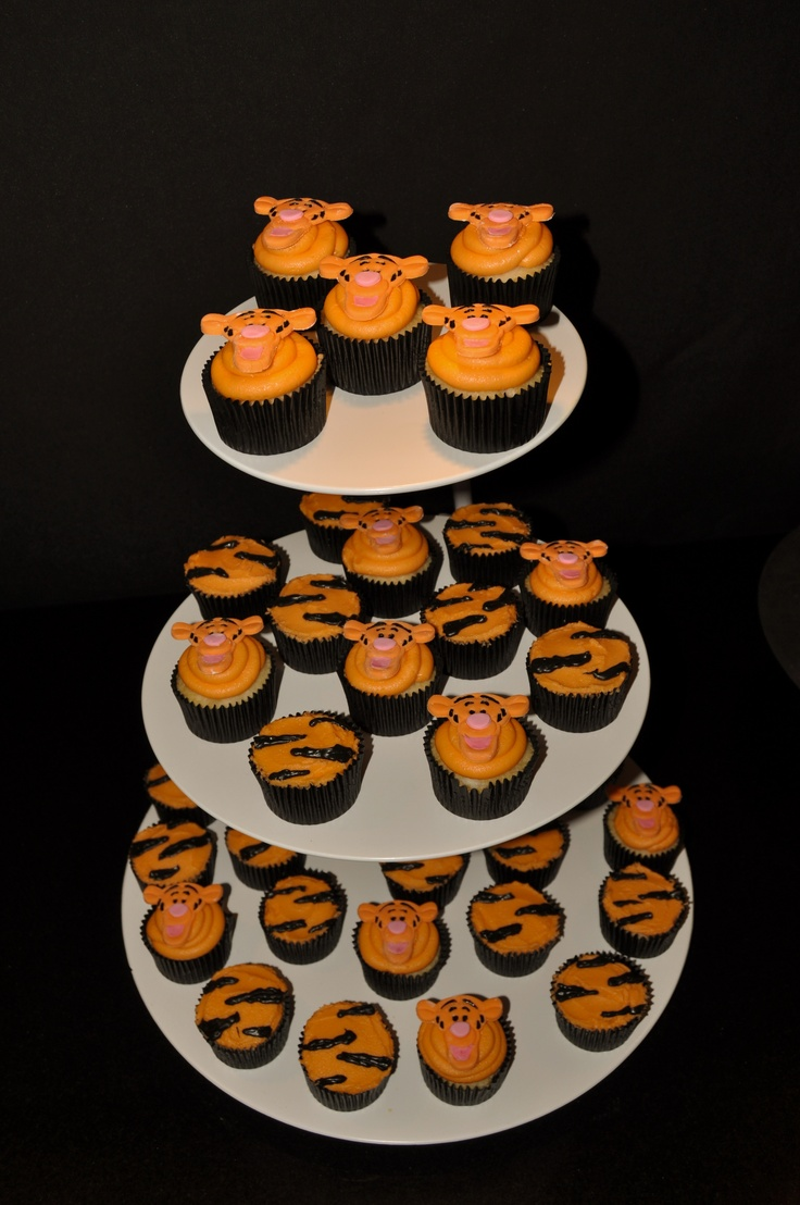 1000 Ideas About Tiger Cupcakes On Pinterest Tiger Cake