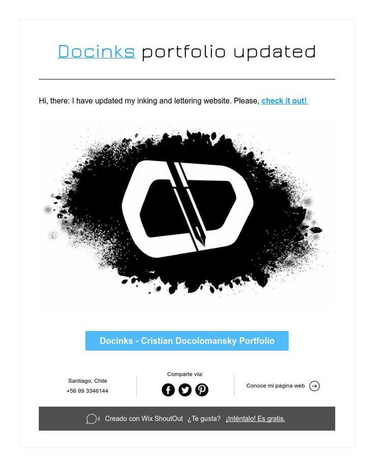 Docinks portfolio updated