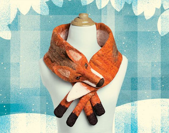 Our Fox de Luxe becomes the face of Etsy Gift Detectives: Call for Submissions | The Etsy Blog