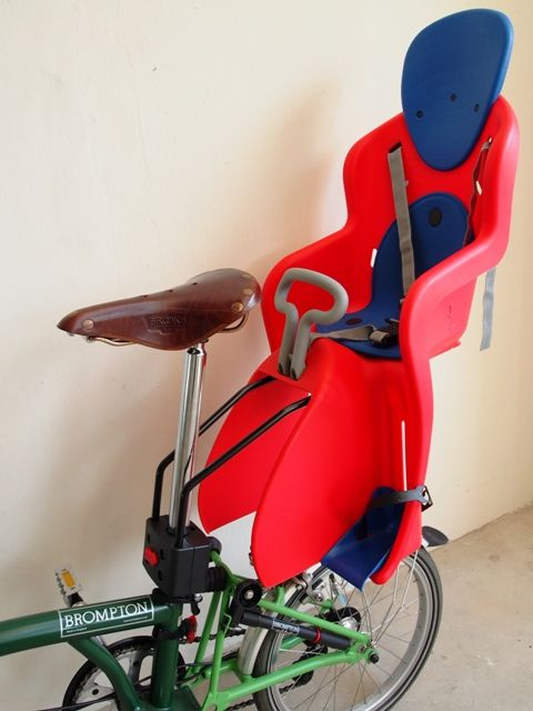 Frame Mounting Child Seat on Brompton