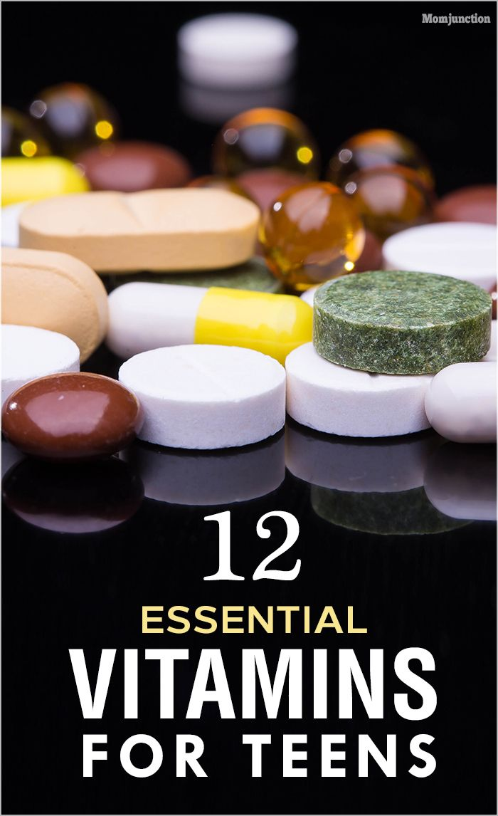 12 Essential Vitamins For Teens: would like to know about some vitamin supplements that your teens should take, consider reading our post below.