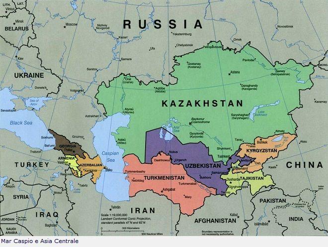 Mar Caspio e Asia Centrale