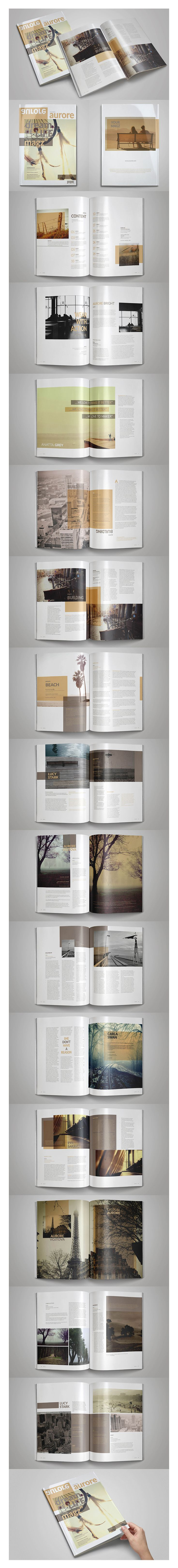 Multipurpose Indesign Magazine Template Today I will you introduce you Multipurpose Indesign Magazine Template.Professional samples can be used for all industries. It includes 30 editable and customizable pages.