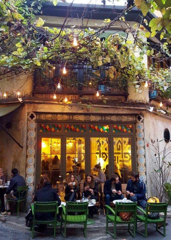 Karabatak in Karakoy, Istanbul