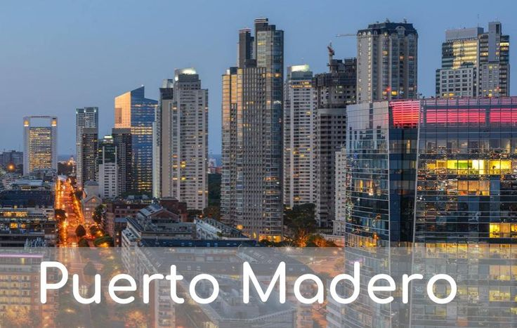 The story of what is today one of the nicest neighborhoods in the city of Buenos Aires begins over one hundred years ago. #Argentina #PuertoMadero #BuenosAires