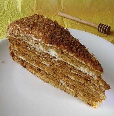 Meetort. Honey cake. By Pille @ Nami-Nami