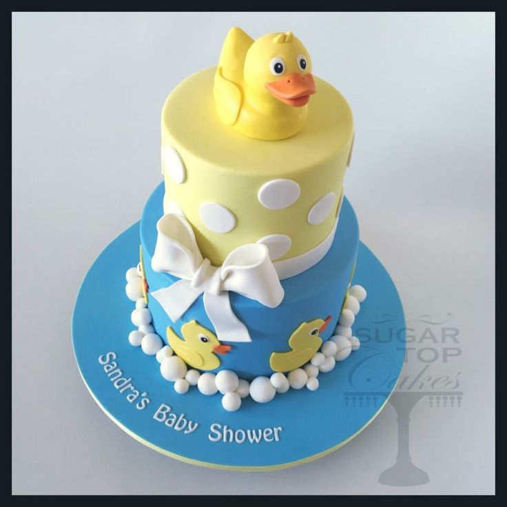 rubber duck cake decorated cakes baby shower baby boy cake ideas ducks
