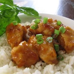 Sweet, Sticky and Spicy Chicken Allrecipes.com