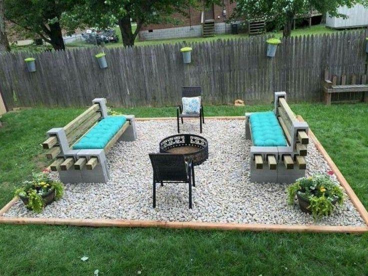 Backyard Landscaping On A Budget Backyard Landscaping In 2020 Backyard Makeover Backyard Patio Backyard Seating Area