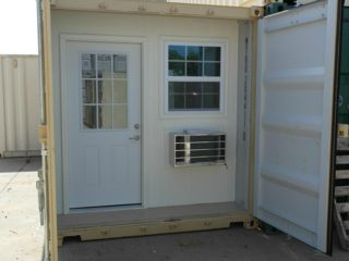 20' Shipping Container Conversion Kit (eBay)