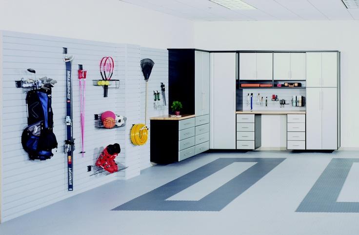 22 best essentials3 garages images on pinterest garage for Closet world garage