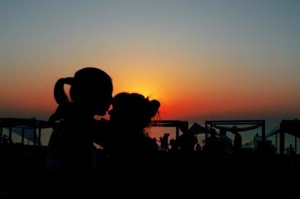 Love in the Vama Veche sunrise