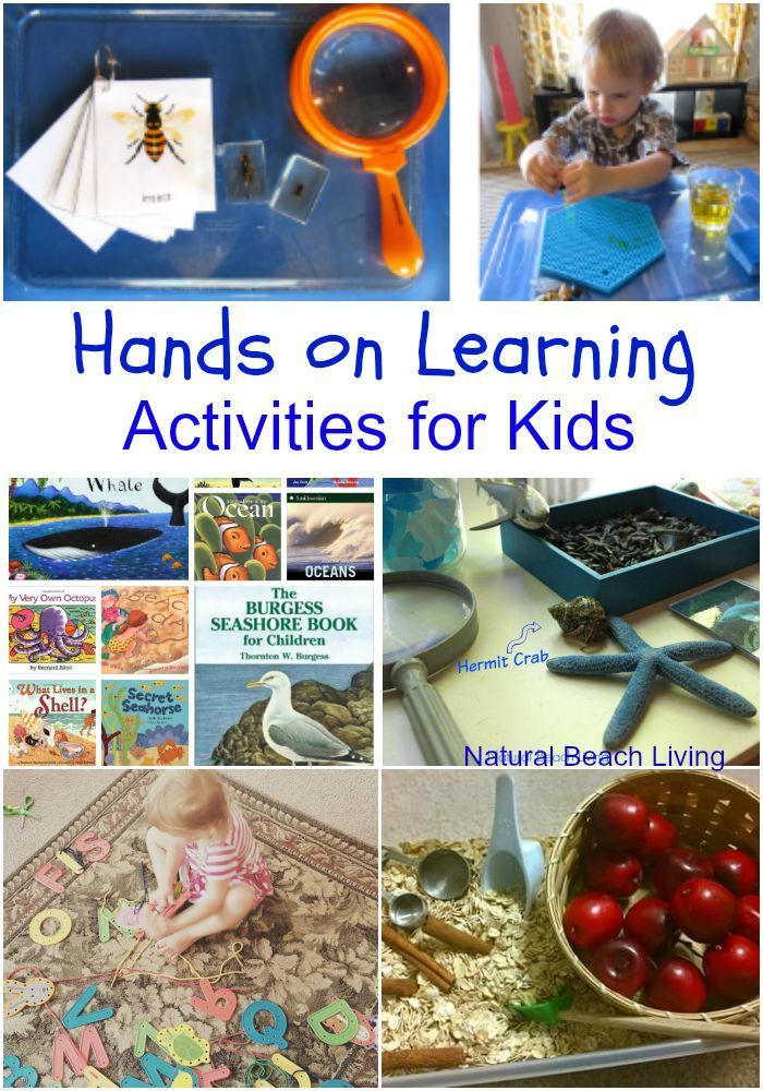 Hands on learning is the best! It provides so many benefits, enhancing creativity, helping children focus, and retention. These are GREAT Kids Activities