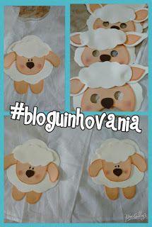 Bloguinho da Vânia: Mascara ovelha EVA                              …