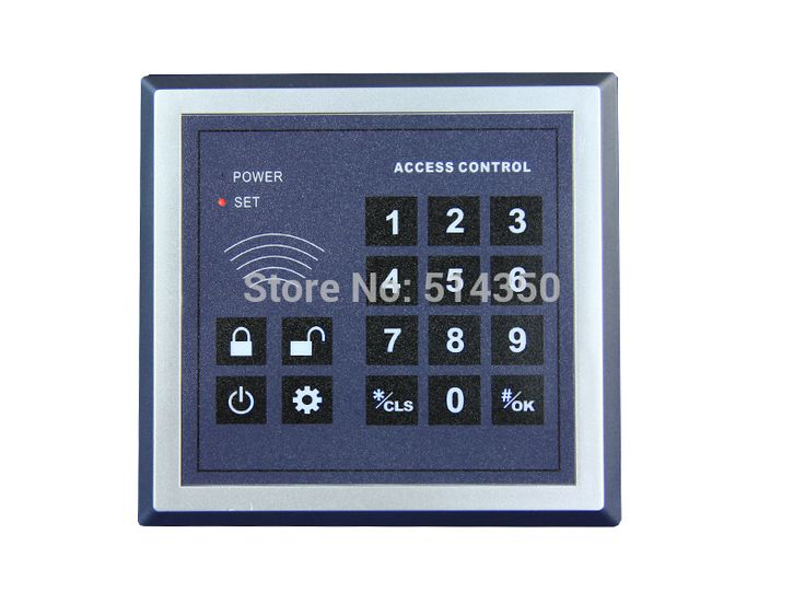 wireless remote access control keyboard / keypad wireless keypad WIRELESS PASSWORD KEYBOARD  for our  alarm system