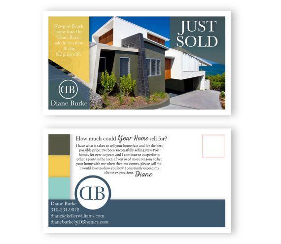 77 best images about Real Estate Postcard Design on Pinterest