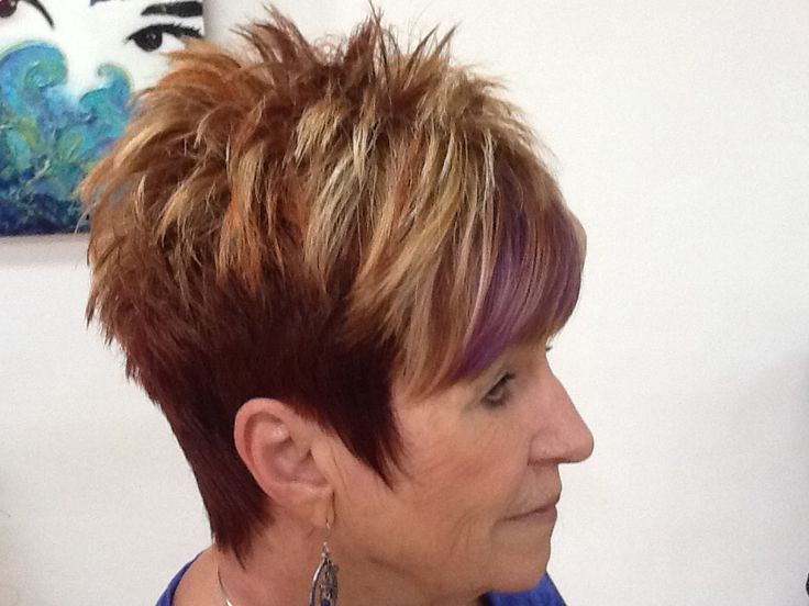 Short Layered Hairstyles: Megan's Multi Dimensional Color Technique...