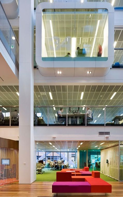 colors: Shelley Street, Offices Design, Ceilings Lights, Contemporary Interiors, Clive Wilkinson, Wilkinson Architects, Interiors Offices, Design Offices, Role Models