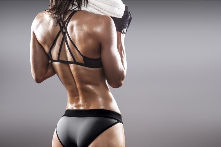 how to build upper back strenght female
