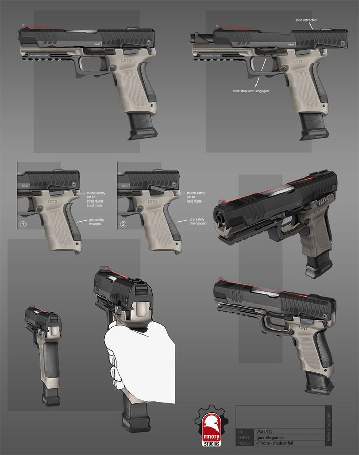 Killzone Shadowfall - VSA Sidearm