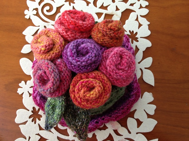 My Bloomin' Basket (from Loani Prior's book Really Wild Tea Cosies)
